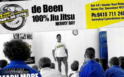 deBeen 100% Jiu Jitsu Hervey Bay Website Design