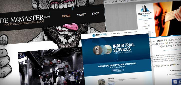 Showcase: My Non-Martial Arts Websites & Designs Vol 1.