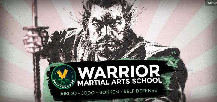 Warrior Martial Arts School – Web Design