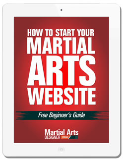 How to Start Your Martial Arts Website